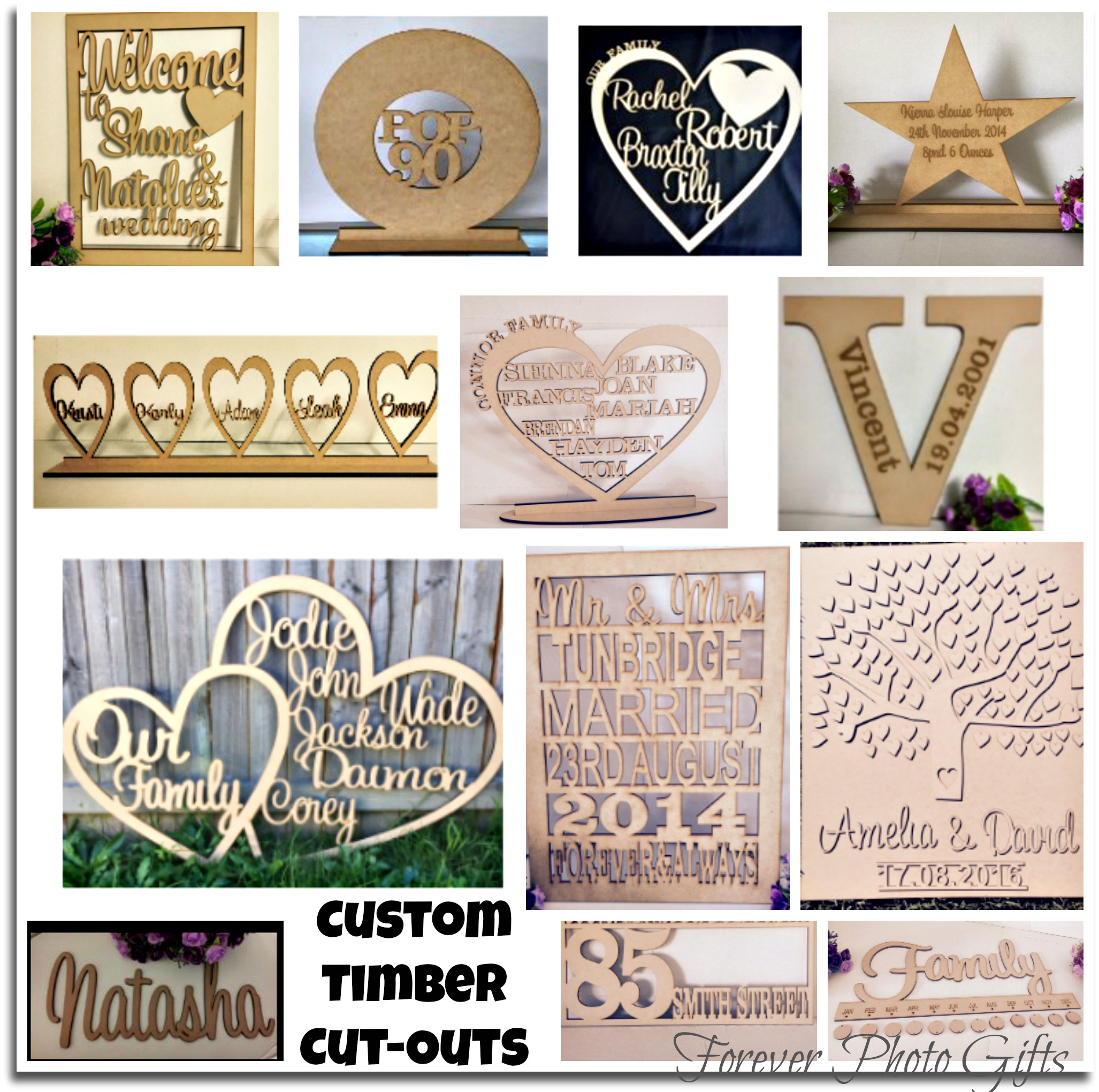 Timber Cut-Outs